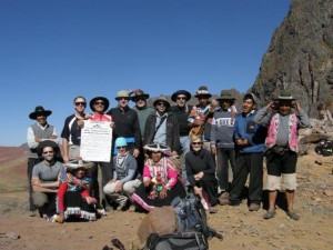 Peru expedition, guides and staff – Camino del Apu Ausangate, 17,300'
